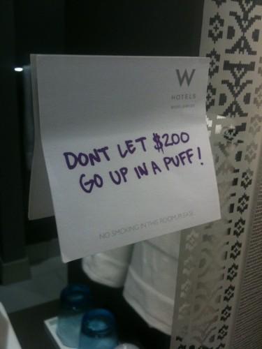 Emotionally Intelligent Signage In A Texas Hotel Daniel